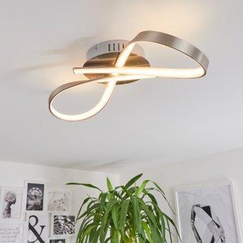 Deckenleuchte Parson LED Nickel-Matt, 1-flammig