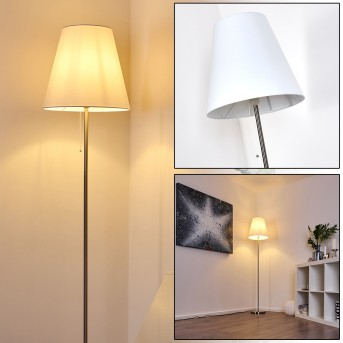 Nuoro Stehlampe Silber, 1-flammig