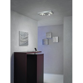 Escale SPOT IT Deckenleuchte LED Aluminium, 2-flammig