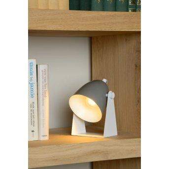 Lucide CHAGO Tischlampe Grau, 1-flammig