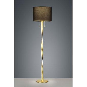 Trio Leuchten NANDOR Stehleuchte LED Gold, 3-flammig