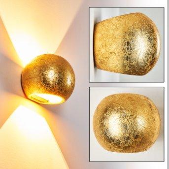 Flot Wandleuchte Gold, 1-flammig