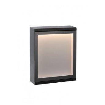 Lucide CADRA Außenleuchte LED Schwarz, 1-flammig