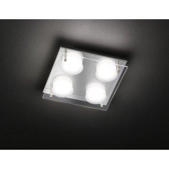Wofi ENVY Deckenleuchte LED Chrom, 4-flammig