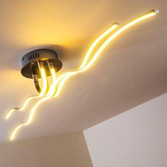 Mapleton Deckenleuchte LED Chrom, 4-flammig