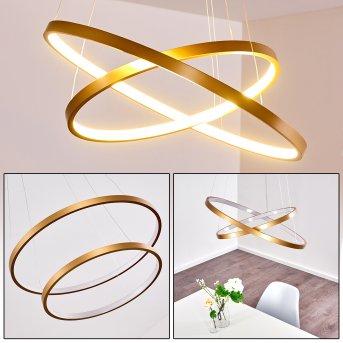 Canisteo Hängeleuchte LED Gold, 2-flammig