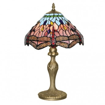 Searchlight DRAGONFLY Tischleuchte Messing, 1-flammig