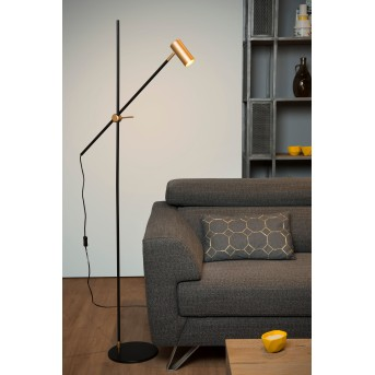 Lucide PHILINE Stehlampe Schwarz, 1-flammig