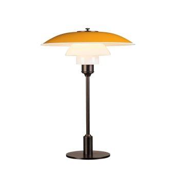 Louis Poulsen 3½-2½ Tischleuchte Gelb, 1-flammig