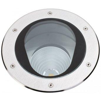 Albert Leuchten 2423 Bodeneinbaustrahler LED Edelstahl, 1-flammig