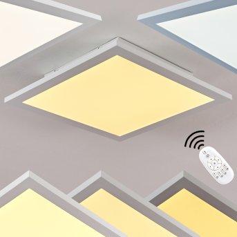 Nexo Deckenpanel LED Weiß, 1-flammig, Fernbedienung