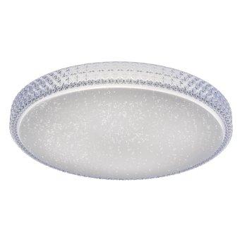 Leuchten Direkt FRIDA Deckenleuchte LED Transparent, Klar, 1-flammig, Fernbedienung