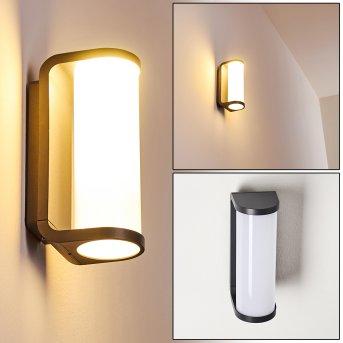 Novelle Außenwandleuchte LED Anthrazit, 1-flammig