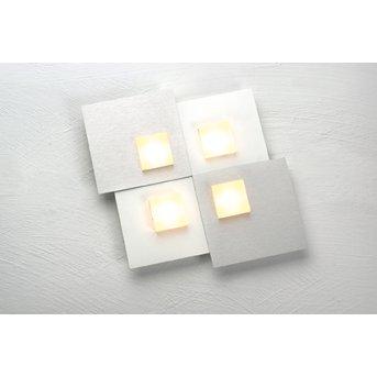 Bopp PIXEL 2.0 Deckenleuchte LED Weiß, 4-flammig
