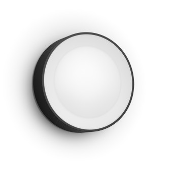 Philips Hue White & Color Ambiance Daylo Wandleuchte LED Schwarz, 1-flammig