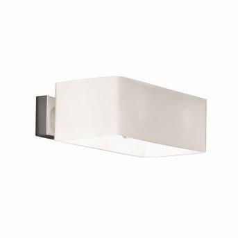 Ideal Lux BOX Wandleuchte Weiß, 2-flammig