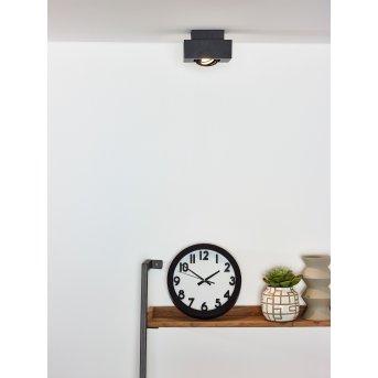 Lucide XIRAX Deckenspot LED Schwarz, 1-flammig