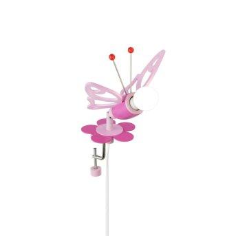 Elobra FALTER Klemmspot Pink, 1-flammig