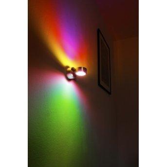 Indore Wandleuchte LED Aluminium, 2-flammig