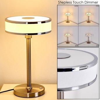 Icogne Tischleuchte LED Weiß, 1-flammig
