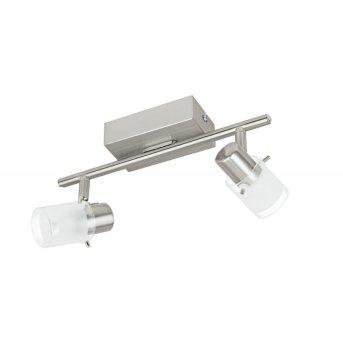 Eglo ORVIETO 1 Deckenspot LED Nickel-Matt, 2-flammig
