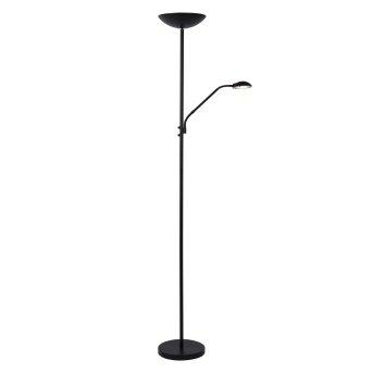 Lucide ZENITH Stehlampe LED Schwarz, 1-flammig