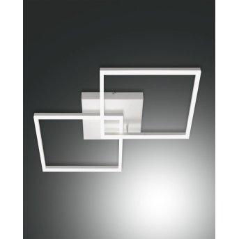 Fabas Luce Bard Deckenleuchten LED Weiß, 1-flammig