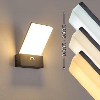 Heraklion Außenwandleuchte LED Anthrazit, 1-flammig