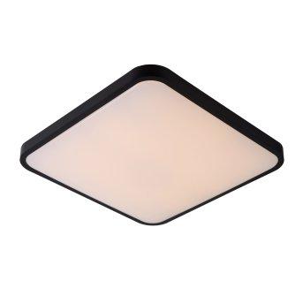 Lucide POLARIS Deckenleuchte LED Schwarz, 1-flammig, Fernbedienung