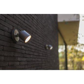 Lutec EXPLORER Außenwandleuchte LED Anthrazit, 1-flammig