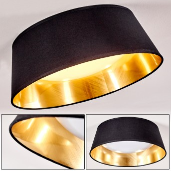 Negio Deckenleuchte LED Weiß, 1-flammig