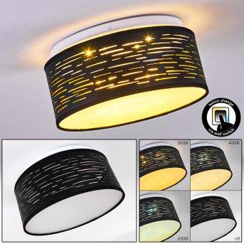 Bathinda Deckenleuchte LED Weiß, 1-flammig