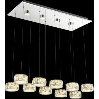 Globo Amur Hängeleuchte LED Chrom, 1-flammig