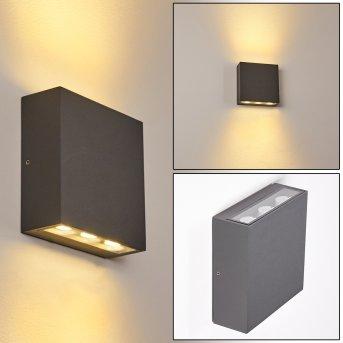 Tinglev Wandleuchte LED Anthrazit, 1-flammig