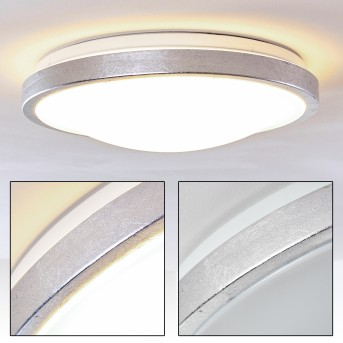 Sora Deckenleuchte LED Weiß, 1-flammig