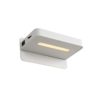 Lucide ATKIN Wandleuchte LED Weiß, 1-flammig