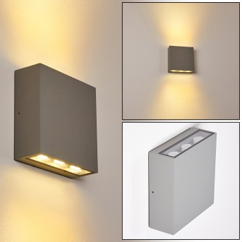 Tinglev Wandleuchte LED Grau, 1-flammig
