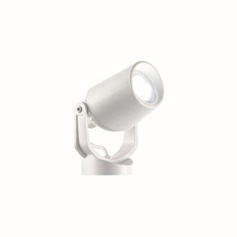 Ideal Lux MINITOMMY Gartenstrahler Weiß, 1-flammig