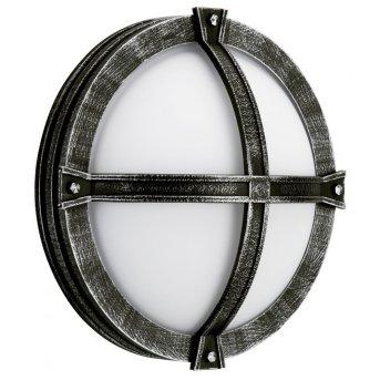 Albert Leuchten 6230 Außendeckenleuchte Schwarz, Silber, 1-flammig