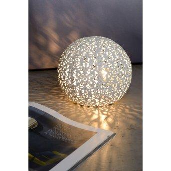 Lucide PAOLO Tischlampe Weiß, 1-flammig