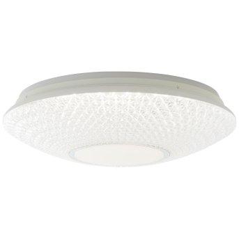 Brilliant Lucian Deckenleuchte LED Weiß, 1-flammig, Fernbedienung, Farbwechsler