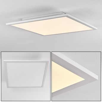 Salmi Deckenpanel LED Weiß, 1-flammig