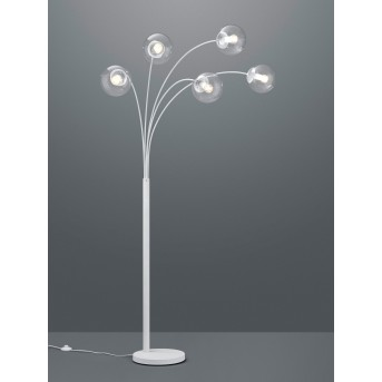 Trio Leuchten Balini Stehleuchte LED Weiß, 5-flammig