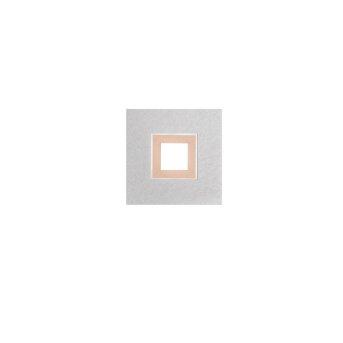 Grossmann KARREE Deckenleuchte LED Aluminium, Kupferfarben, 1-flammig