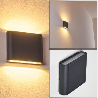 Tinglev Wandleuchte LED Anthrazit, 2-flammig