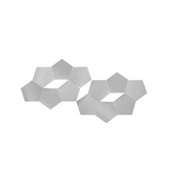 Grossmann LINDE Wandleuchte LED Aluminium, 3-flammig