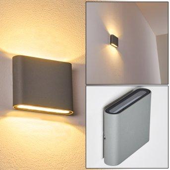 Tinglev Wandleuchte LED Grau, 2-flammig
