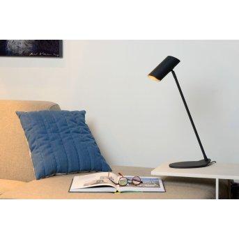 Lucide HESTER Schreibtischlampe Schwarz, 1-flammig