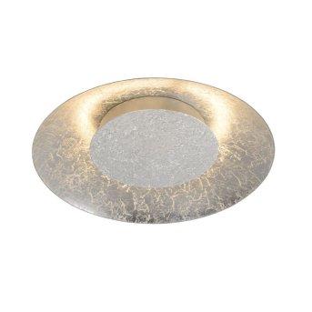 Lucide FOSKAL Deckenleuchte LED Silber, 1-flammig