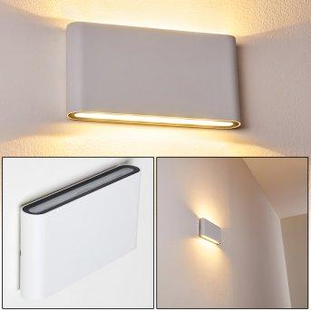 Tinglev Wandleuchte LED Weiß, 2-flammig